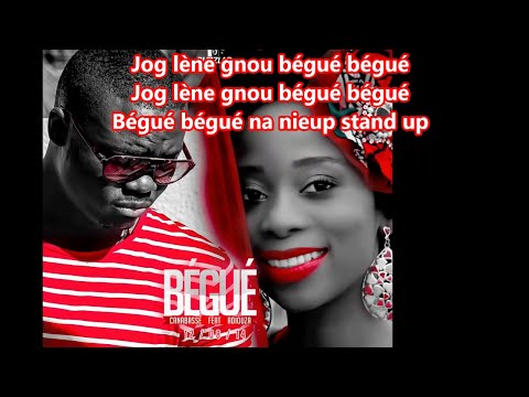 Canabasse - Bégué (feat. Adiouza) (lyrics) video