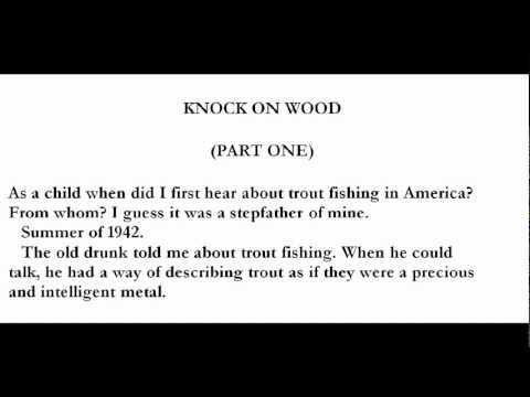 Trout Fishing in America Richard Brautigan Trout Fishing in America