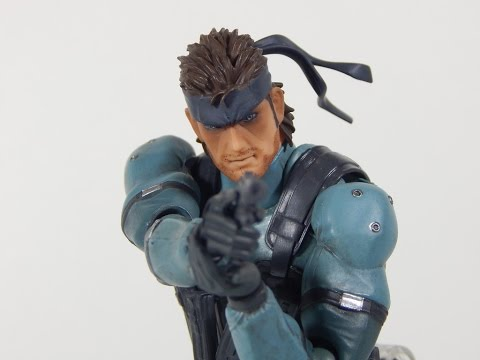 Figma 243 MGS2 Solid Snake Review