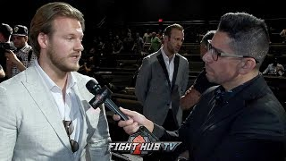 "BEN DAVISON ""WILDER WOULD BEAT RUIZ! PEOPLE SLEIGHT WILDERS BOXING ABILTY, HES VERY EFFECTIVE!"""