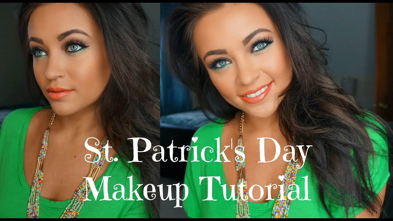 st patricks day makeup tutorial youtube