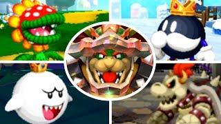 Mario & Luigi: Paper Jam - All Bosses (No Damage)