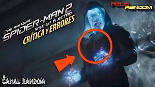 Errores de peliculas The Amazing Spiderman 2 Crítica y Review WTF PQC Spider-man