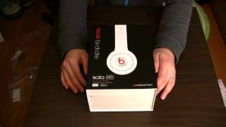 Monster Beats by dr dre Solo HD unboxing