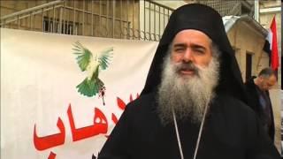 قداس على أرواح الضحايا المصريين في ليبيا بالكنيسة القبطية بالقدس
