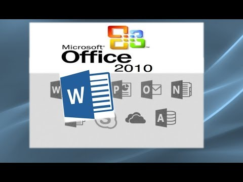 Using Microsoft Word 2010: A complete tutorial of most aspects of the application