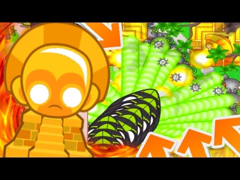 HARDEST GAME MODE EVER! - Bloons TD Battles Playing With Fire! - INSANE LATE GAME BTD BATTLES