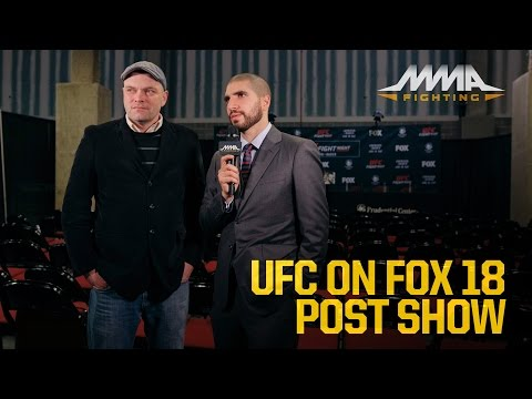 UFC on FOX 18 Post-Fight Show