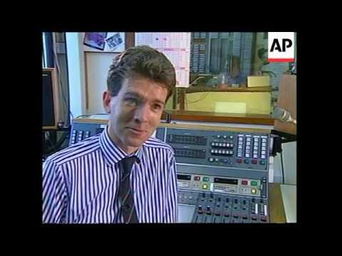 HONG KONG: BRITISH FORCES RADIO BROADCASTS FINAL PROGRAMME