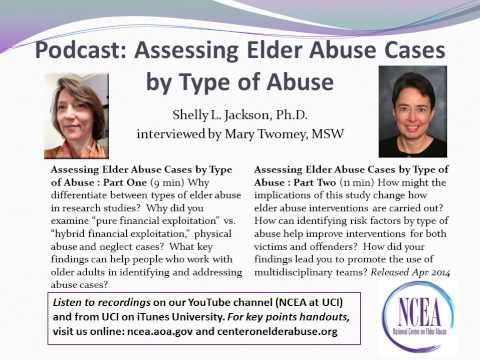 Write my elder abuse case study