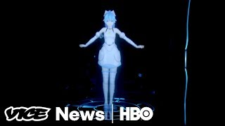 This Holographic Anime Character Could Be Your Next Girlfriend (HBO)