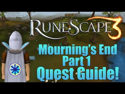 Runescape 3: Mournings End Part 1 Quest Guide