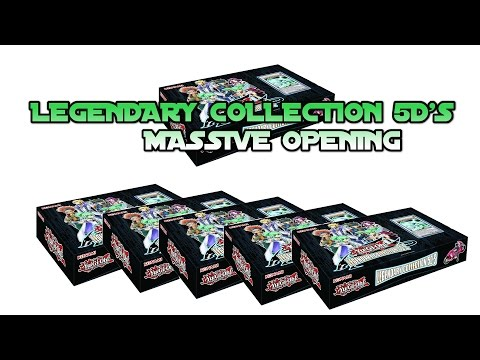 Massive Yugioh Legendary Collection 5ds 2 Case Opening! video