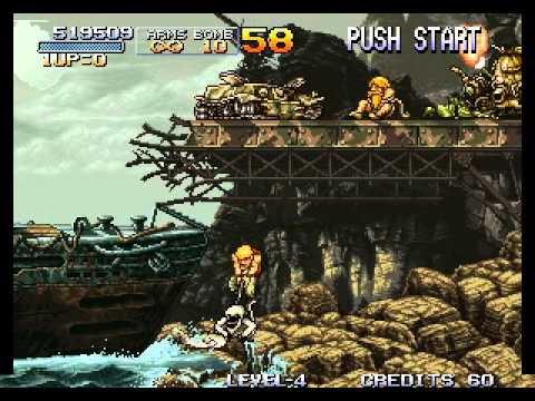 Metal Slug - Super Vehicle-001 - Foodperson Attempts...Vizzed.com Play - User video
