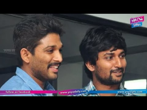 Nani Said Ok to Allu Arjun Story | Latest Telugu Movies | Tollywood | YOYO Cine Talkies