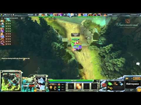 RoXKIS vs Mousesports Game 1  DOTA 2 International Western Qualifiers - TobiWan & Soe