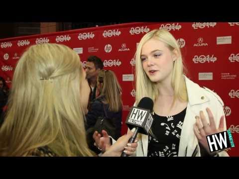 Elle Fanning Opens Up About Sister Dakota & Angelina Jolie! (Sundance 2014)