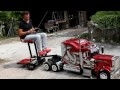 "ModelTruck Peterbilt  359 RC con ""Biga"".mp4"