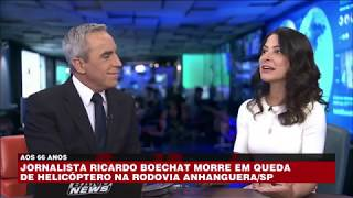 Ana Paula Padrão: Boechat era comprometido com o jornalismo