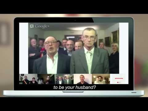Google tous Unis Pour L'egalite: Same Sex Marriage video
