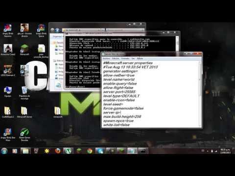 Como hacer un server de minecraft 1.5.2 sin hamachi no premium