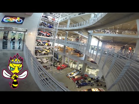 QueenBee does Barber Vintage Motorsports Museum | Part 2