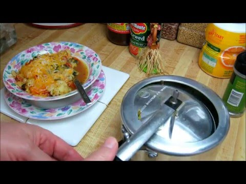 Tiny pressure cooker review & 60 second vegetable goulash recipe