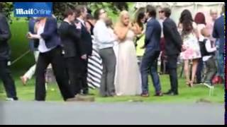 One Direction Video - One Direction boys at the wedding of Louis Tomlinson's mum