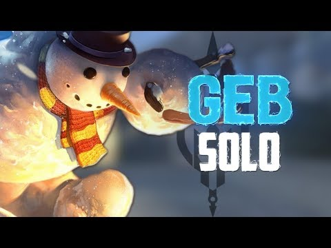 Geb Ranked Solo: NOBODY CAN END THIS GAME!!! - Incon - Smite