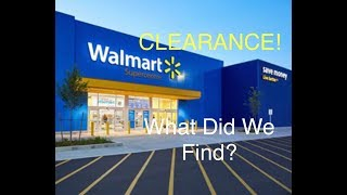Retail Arbitrage Trip! What Did We Find At Walmart Clearance? Plus a Thrift Store Find!!!