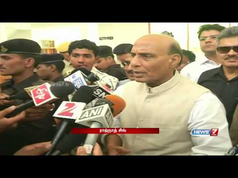 Ending infiltration by Pakistan will take time: Rajnath Singh | India | News7 Tamil |