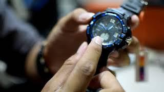 Cara Setting jam SKMEI SK-1148 / 298 model dual time