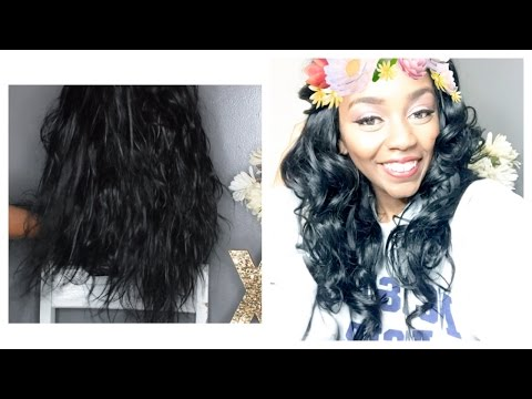 HOW TO REVIVE OLD WEAVE | boiling / deep condition