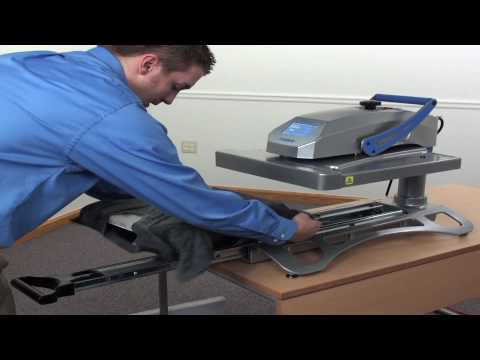 Stahls' Hotronix Fusion Heat Press Complete Demonstration
