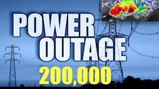 Huge! 1/4 Million People Without Power! Prepare for Long Term Outages, More Powerful Storms Still to Hit (Vital Video)