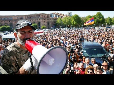 Армения: новые протесты   25.04.18