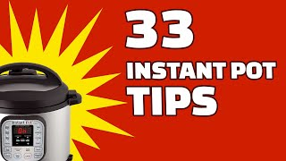 33 BEST Instant Pot Tips | Great For Beginners