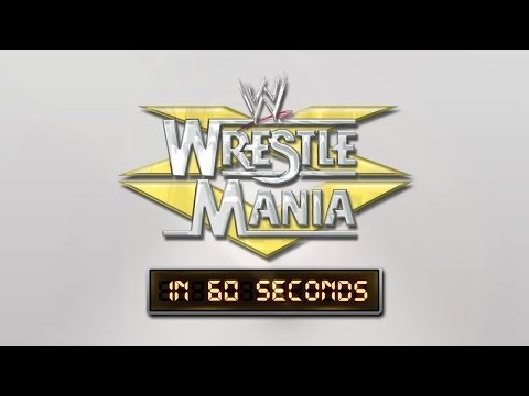 Wrestlemania In 60 Seconds: Wrestlemania Xv video