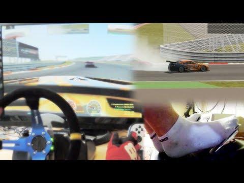 rFactor 2 Drift Gameplay - Logitech G27 Steering Wheel mod. Nissan GT-R GT1 Fuji Speedway Japan.