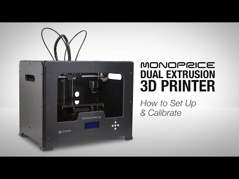 How to Set Up Your 3D Printer from Monoprice
