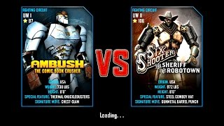 Real Steel WRB Ambush VS Six Shooter NEW UPDATE (Живая Сталь)