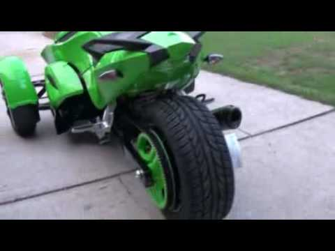 Brp Spyder >> Custom 08 Can Am Spyder - BRP - YouTube
