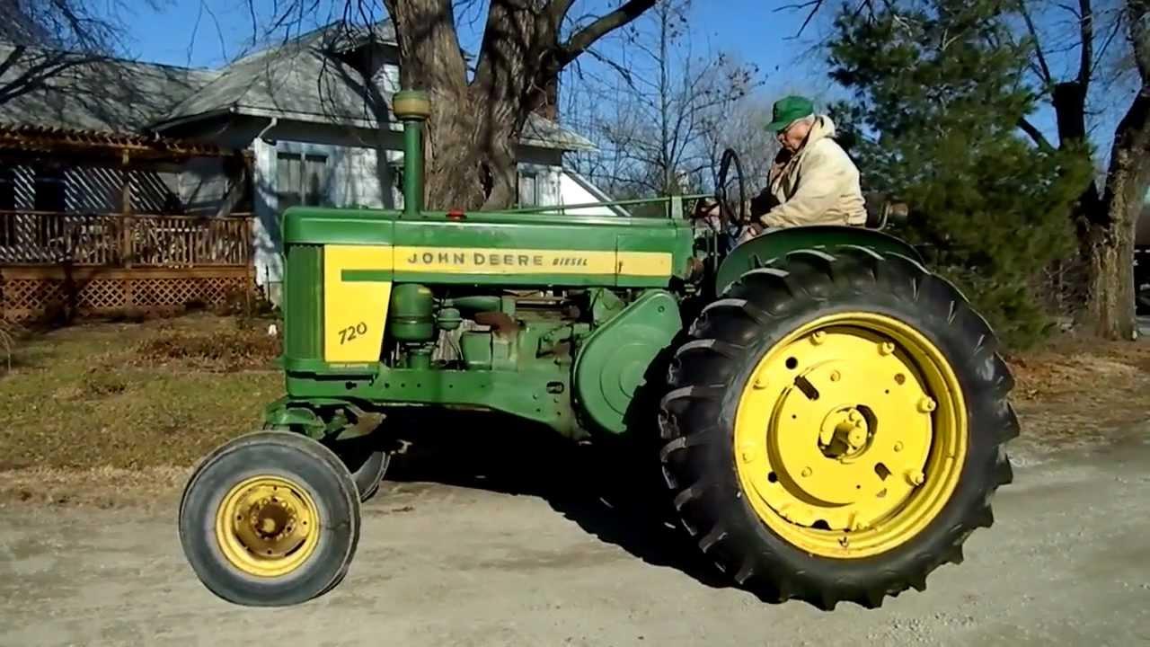 720 John Deere Tractor 1958 Diesel Pony Start In Se Kansas Coming For Sale  6 900 Obo