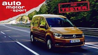 VW Caddy: Wer braucht da noch einen Touran? - Test/Review | auto motor und sport