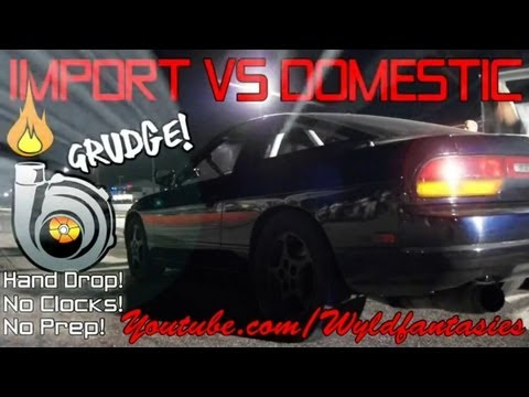 KOTS: Epic Import vs Domestic grudge racing, Thursday Night Lightz, 20