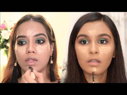 I Tried Following A Debasree Banerjee Makeup Tutorial