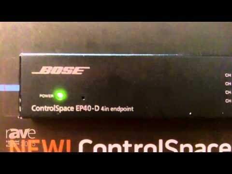 ISE 2015: Bose Talks About ControlSpace EP40-D Endpoint
