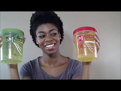 4C Natural Hair - Eco Styler Argan Oil Gel Review - NaturalMe4C