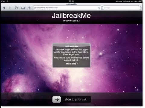 iOS 6.1, 6, 5 Jailbreak iPhone 5, iPod Touch, iPad (iPad 2 Jailbreak via JailbreakMe.com)