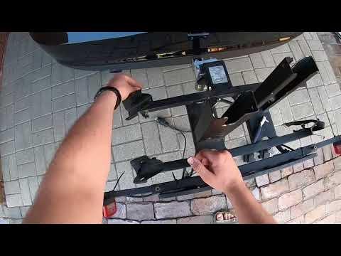 Twinny Load Fahrradträger montieren Metall & Technik Fahrrad Heck-Träger anbringen Montage Anleitung